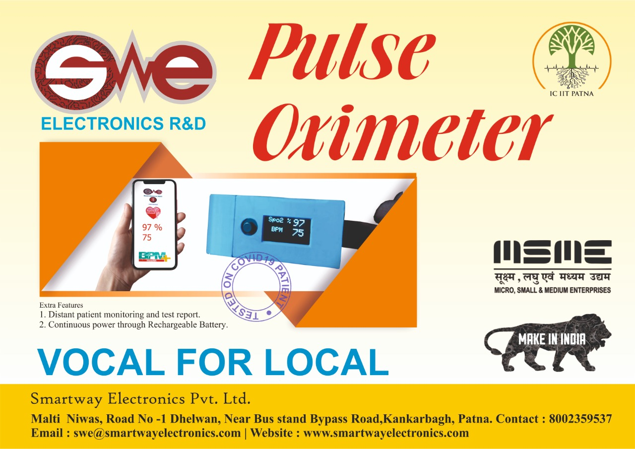 Complete  Indian Pulse Oximeter